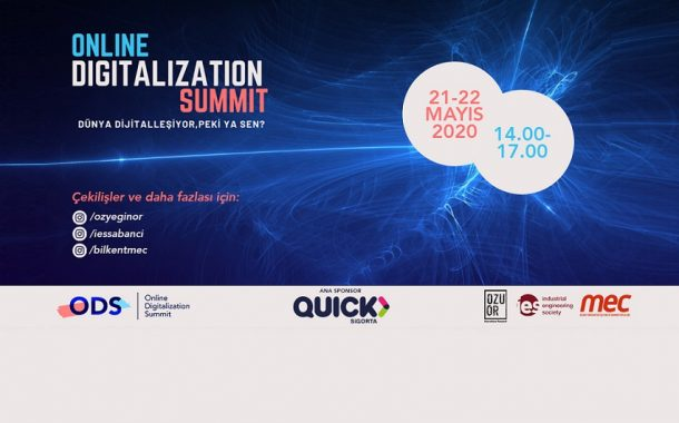 Online Digitalization Summit için son iki gün